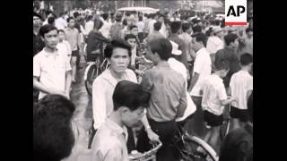 Saigon: Khanh  Press Conference, Anti-Communist Demo, S. Vietnam: Ranger Patrol, Saigon: Racial Riot