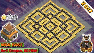 Clash of Clans 2017 ♦ NEW! TH8 War Base 2017 ♦ Anti 2 and 3 Star TH8 War Base ♦ Anti Everything