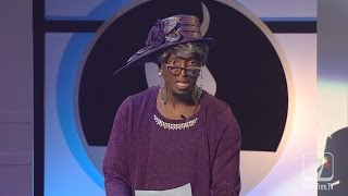Ricky Smiley as Sister Bernice Jenkins at Stellar Awards