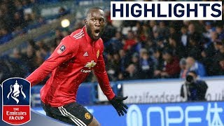 Huddersfield 0-2 Manchester United | Pinpoint Alexis Assist for Lukaku 2nd | Emirates FA Cup 2017/18