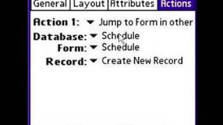 HanDBase 4 Tutorial: Jumping Form to Form in DB (Palm OS)