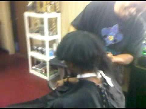 Denzel's Chili Bowl Haircut