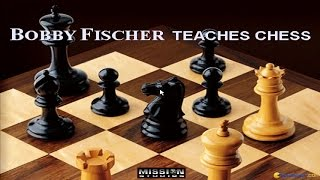 Bobby Fischer Teaches Chess gameplay (PC Game, 1994)