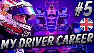 FIRST LAP CRASH! CRAZY HOME RACE! - F1 MyDriver CAREER S4 PART 5: BRITAIN