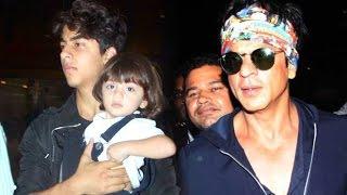 Shahrukh Khan & His Son Abram's HOLIDAY Photos LEAKED| Shahrukh Khan Son Scandal