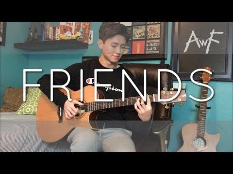 Friends - Marshmello & Anne-Marie - Cover (Fingerstyle guitar)