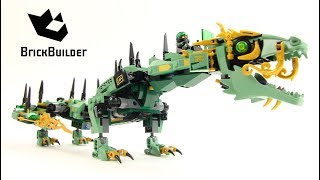 Lego Ninjago 70612 Green Ninja Mech Dragon  - Lego Speed build