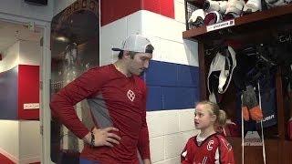 Ovechkin grants young fan