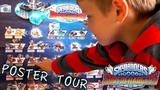 Skylanders Superchargers Dark Edition Poster Tour