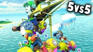 MARIO KART 8 DELUXE COMPETITIVO: RK vs TT | 5vs5 CLAN WAR | Nintendo Switch