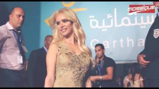 فساتين النجمات في افتتاح أيام قرطاج السينمائية