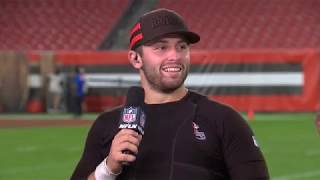 Baker Mayfield on Leading the Browns to First Win in 635 Days,
