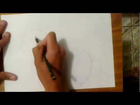 Como desenhar um coelho aula de desenho realista e hq comics Jonathangstrex Desenhos video 3