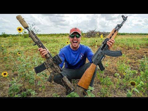 Xxx Mp4 Serbian AK47 Vs American AR15 Shocked 3gp Sex