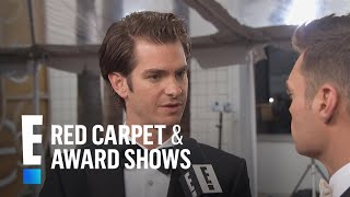 Andrew Garfield Talks Huge 2017 Golden Globes Nomination   E! Live from the Red Carpet