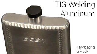 ⚡ TIG Welding Aluminum Fabrication⚡ - Making a Flask