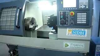 Gear hobbing machine- Demo By cnc retrofitting services provider