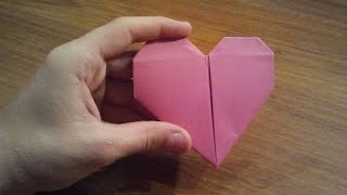 How To Make An Origami Heart - Valentine's Day