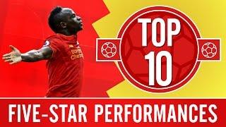 TOP 10: Amazing five-goal Liverpool FC wins