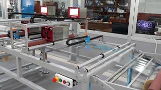 Savema Winder&Rewinder System with SVM 107 C Printers for Romania Market: