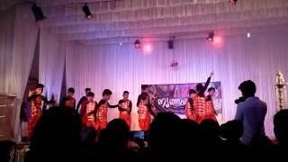 Vinayak preforming muqabla dance ... Santhosh chunakara dance classes