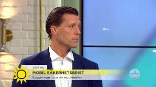 Buggen som hotar din mobiltelefon – så skyddar du dig - Nyhetsmorgon (TV4)