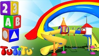 TuTiTu Preschool | Learning Colors for Babies and Toddlers | Playground