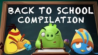 Angry Birds | Back to School Mashup Compilation
