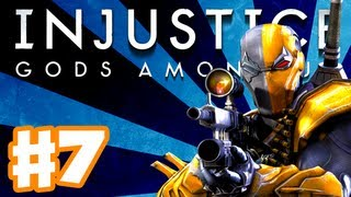 Injustice: Gods Among Us - Gameplay Walkthrough Part 7 - Deathstroke (PS3, XBox 360, Wii U)