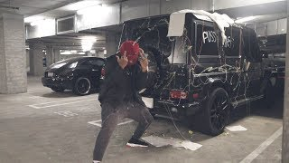 DESTROYING DDG's $150,000 G-WAGON !!!