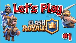 HET BEGIN! - Let's Play Clash Royale #1 [Nederlands] [Dutch]