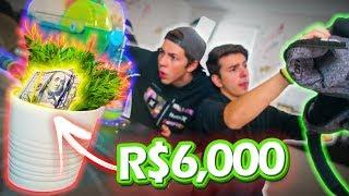 CAÇA AO TESOURO DE R$6000,00!!!