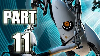 Let's Play Portal 2 - Part 11 (Gameplay & Commentary)