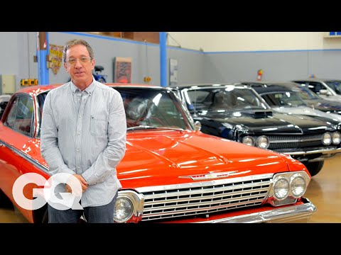 Tim Allen s Car Collection of Authentic American Made Motors GQ s Car Collectors Los Angeles