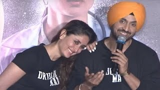 Udta Punjab TRAILER LAUNCH | Diljit Dosanjh FULL Interview