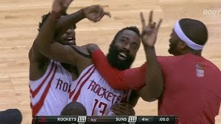 James Harden hits game-winner at the buzzer to beat Phoenix!