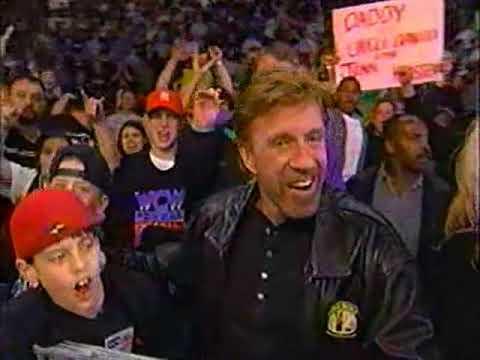 Chuck Norris WCW Monday Nitro 1999