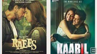 Download Raees & Kaabil  HD quality in Dual Audio Hindi & Tamil