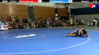 WM 77 KG - RR3 - Paloma Basulto (MV) vs. Kerri Bumpers (King)