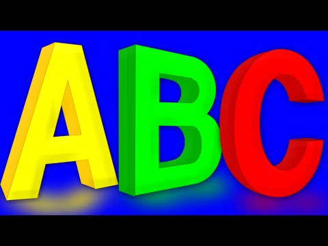 Learn Alphabets | ABC Song | Kids Video | Children's ABCD Rhyme