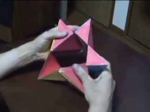 My transformer 3D Origami