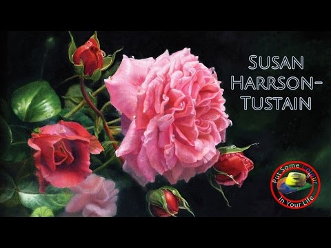 Fine art Tips with Susan Harrison Tustain on Colour In Your Life