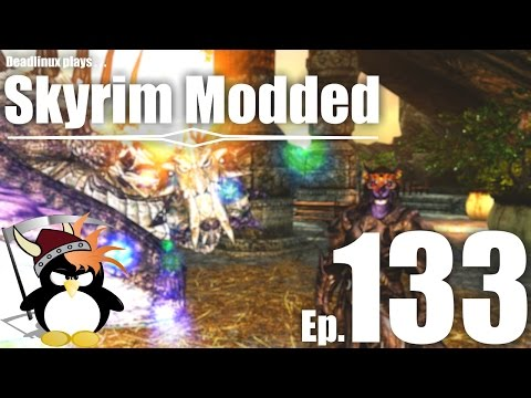 Dragontooth Den! Player House Spotlight (and Konker the Drunken Robot!) - Skyrim Modded Ep 133