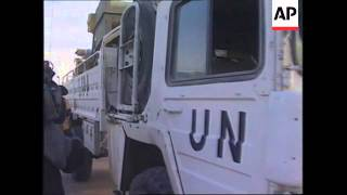 IRAQ: UN SANCTIONS BLAMED FOR INCREASING NUMBER OF DYING CHILDREN