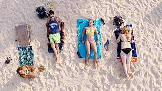 Beach, babes and drones. Vietnam