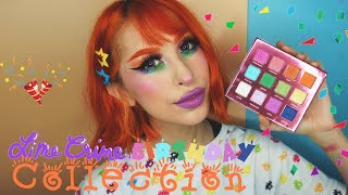 LIME CRIME BIRTHDAY COLLECTION: FIRST IMPRESSION, RAINBOW MAKEUP TUTORIAL, FULL LIP SWATCHES ⚡️