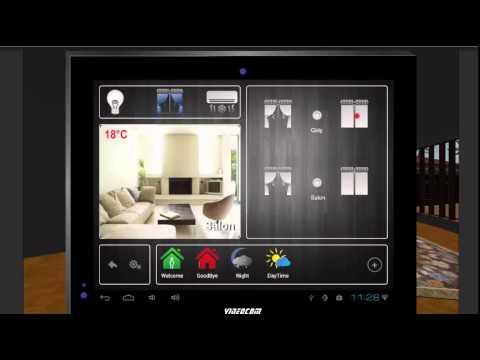 Xxx Mp4 Videocom Akıllı Ev Android Panel Ve Mobil Telefon üzerinden Kontrol Simülasyonu 3gp Sex