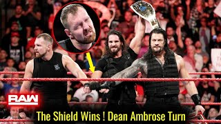 The Shield WINS ! Dean Ambrose Heel Turn ? WWE Raw 24 September 2018 Highlights ! Results
