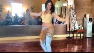 الراقصة تيفاني ترقص علي مهرجان الشعبي الامريكاني (تامر ومايكل) TiffaniAhdiaBellydance