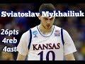 Download Video Download Sviatoslav Mykhailiuk Kansas vs Omaha/12.18.17/Highlights/26pts 4reb 4ast 3GP MP4 FLV